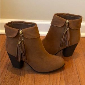 Shoes - Brand new Lauren Conrad tassel Boots